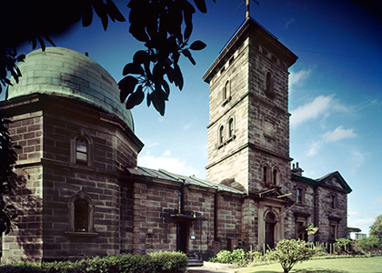 The front of the Sydney Observatory