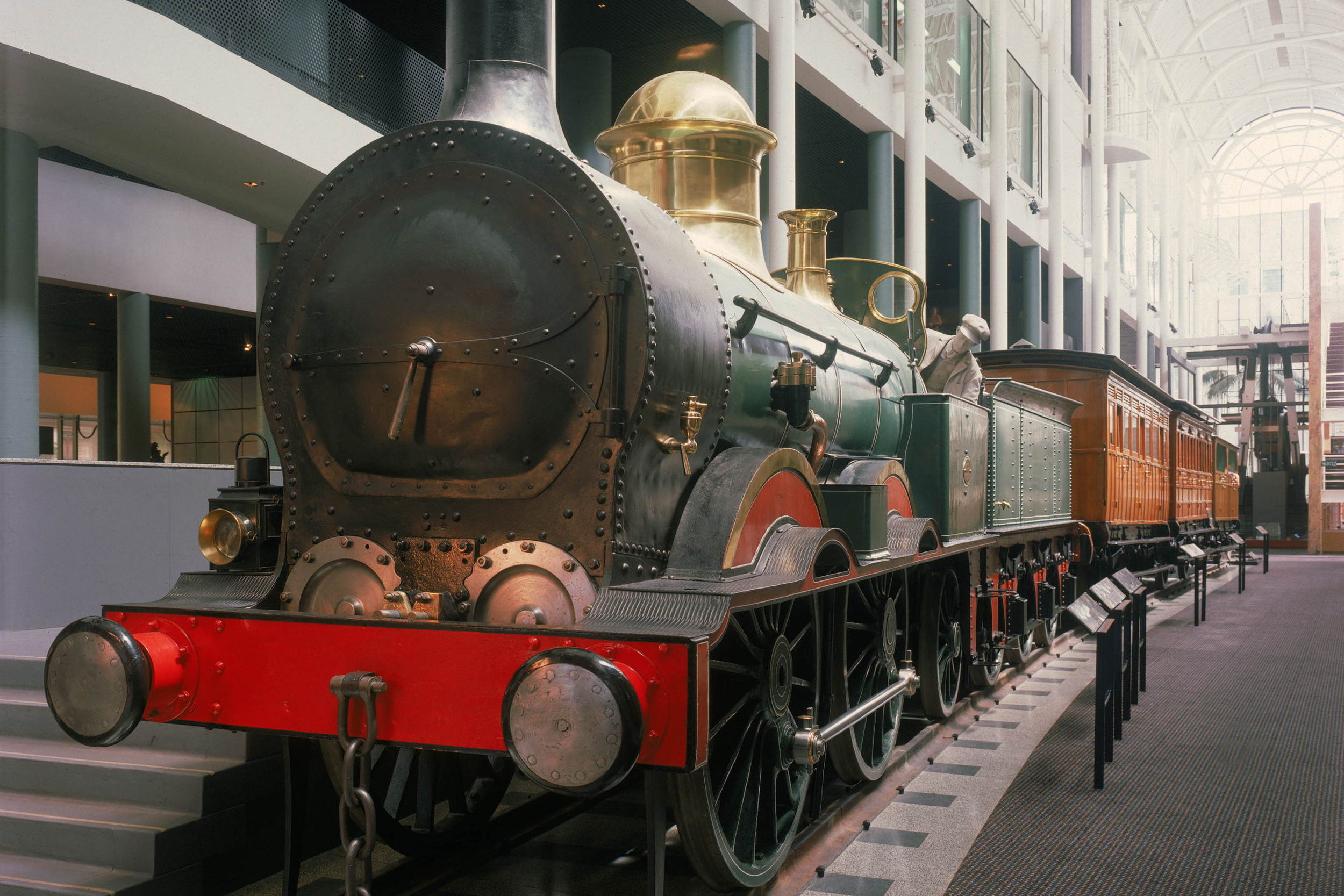Locomotive No  1 – Museum of Applied Arts and Sciences