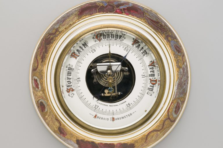 Aneroid Barometer made by J H Steward Limited, London, England, 1885-1895, Collection: MAAS, H10254