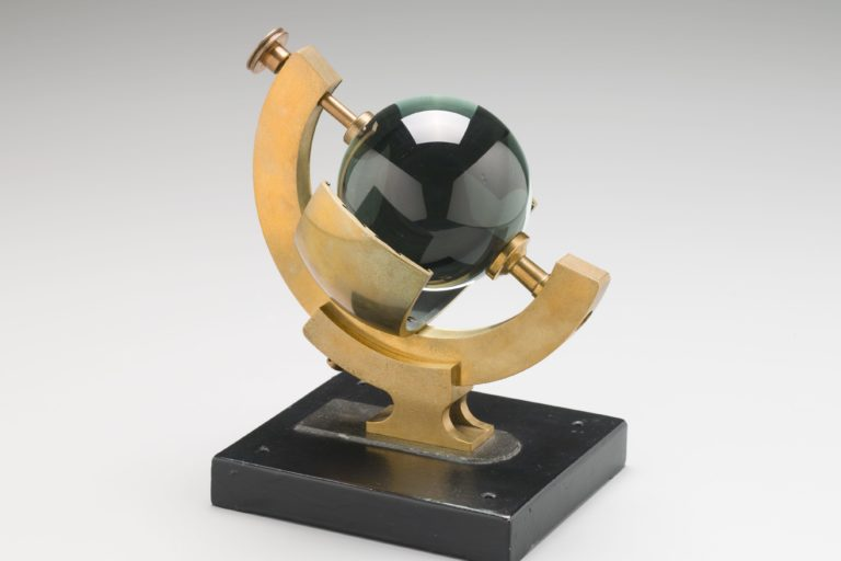 Sunshine recorder used at Sydney Observatory, made 1895-1905, Collection: MAAS, H7353