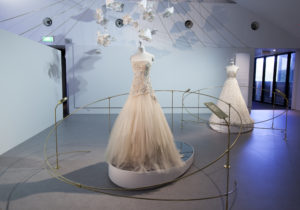 Collette Dinnigan: Unlaced, exhibition views: wedding dresses