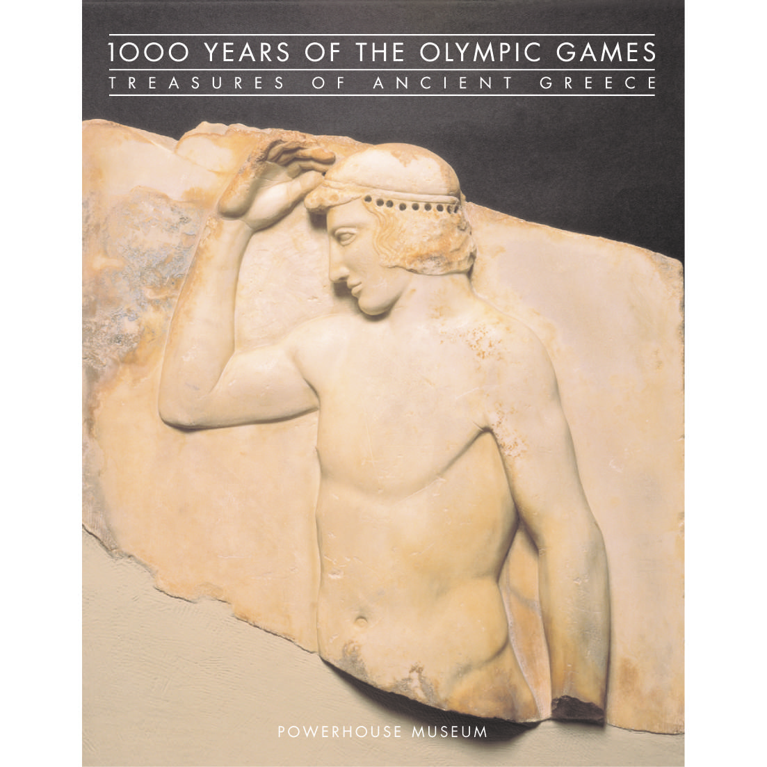 Book cover, 1000 Years of the Olympic Games: Treasures of Ancient Greece.