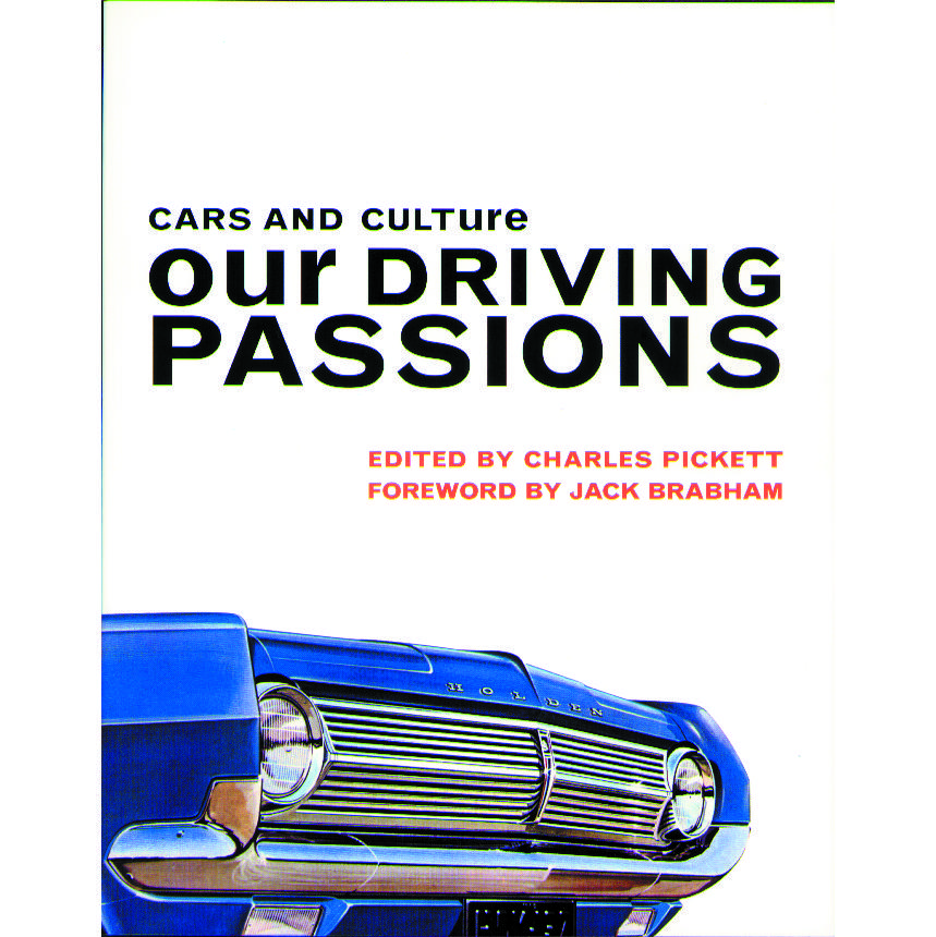 Book cover, Cars and Culture: Our Driving Passions.