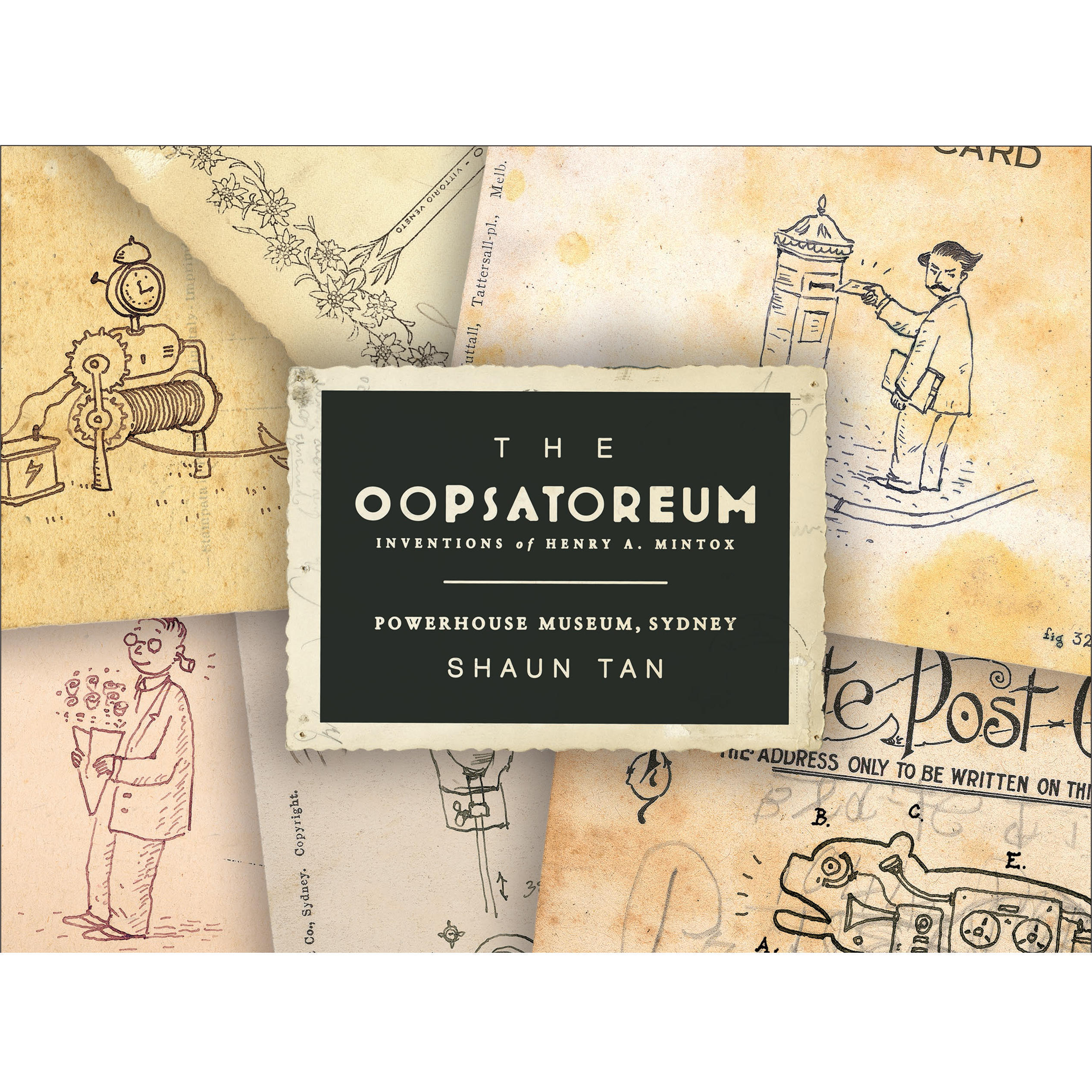 Product image, The Oopsatoreum Set of 10 Postcards.