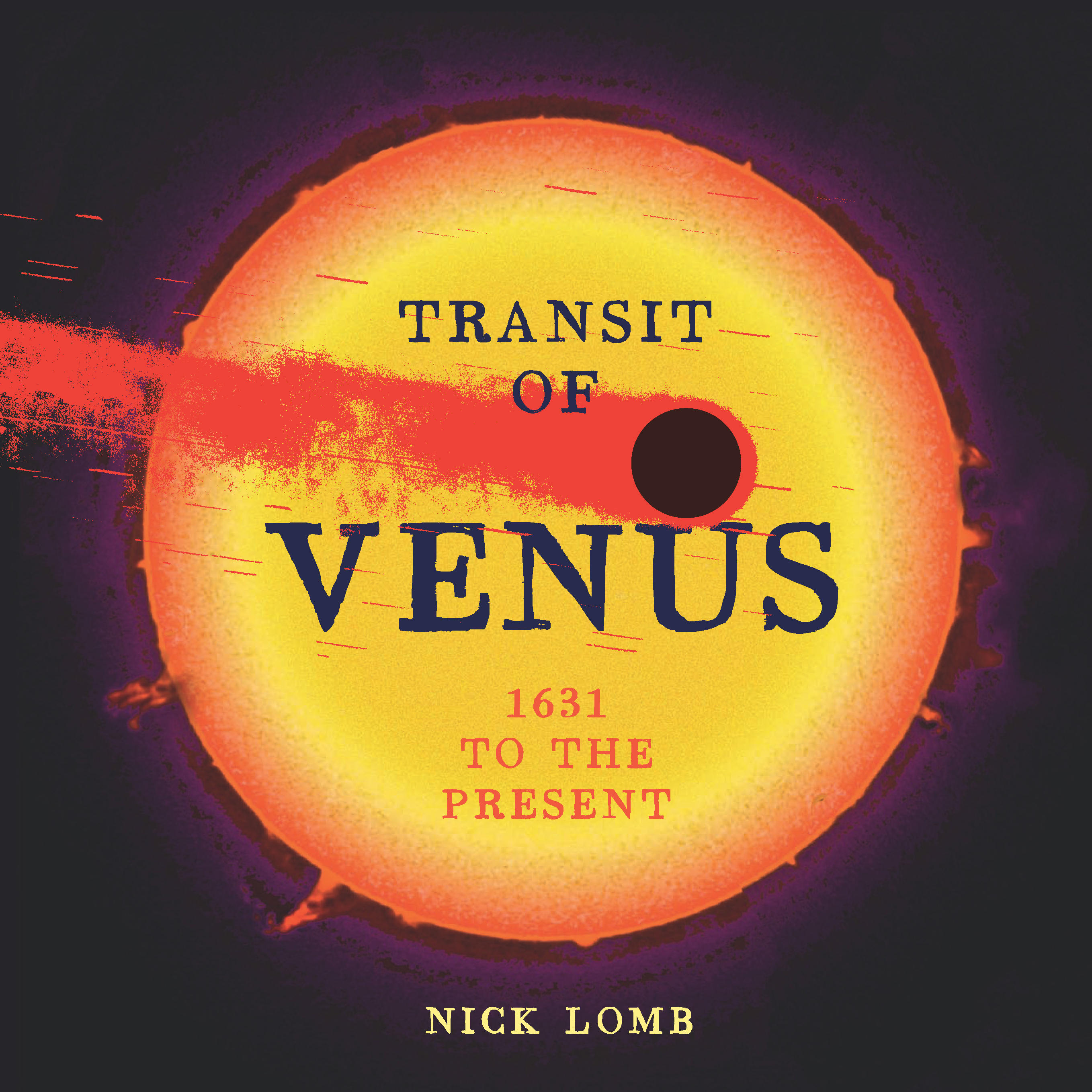 Book cover, Transit of Venus: 1631 to the Present.