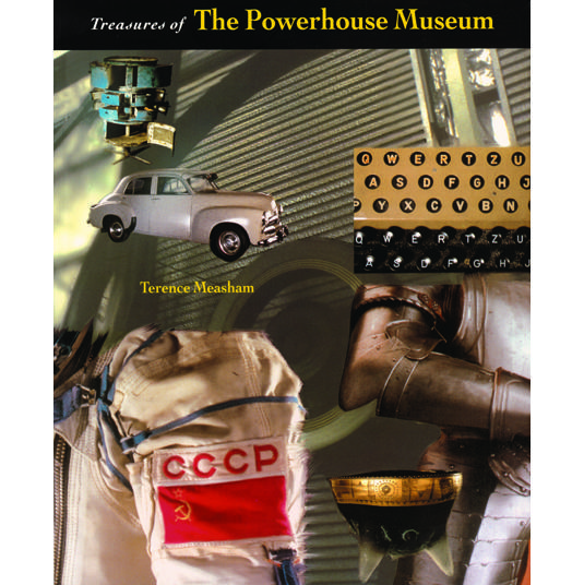 Book cover, Treasures of the Powerhouse Museum.