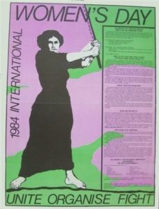 1984 Sydney International Women's Day poster. Photo: Marian Sawer