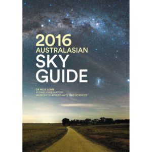 The cover of the 2016 Australasian Sky Guide