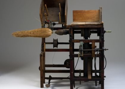Millett broom-making machine