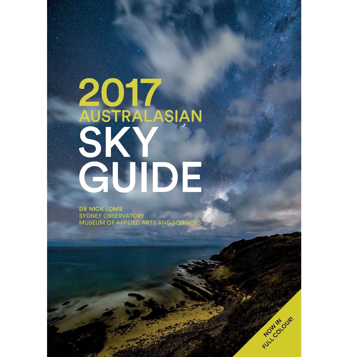 Book cover, 2017 Australasian Sky Guide.