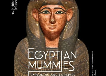 Book cover, Egyptian Mummies: Exploring Ancient Lives.
