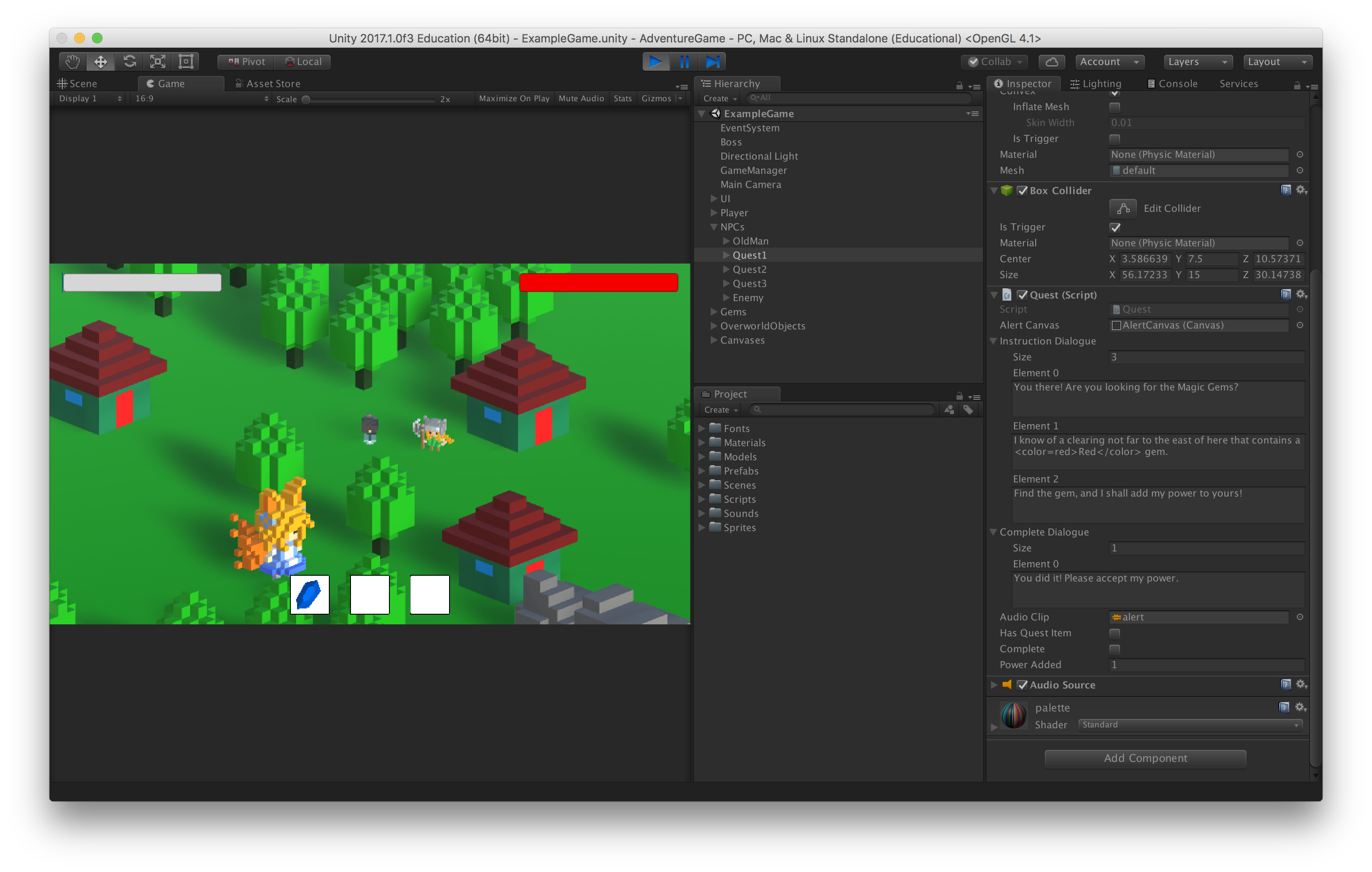 Unity Game Design: 3D Platformer 2 Day (Ages 10-12) – Museum of