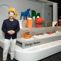 Tim Ross at the launch of Design Nation
