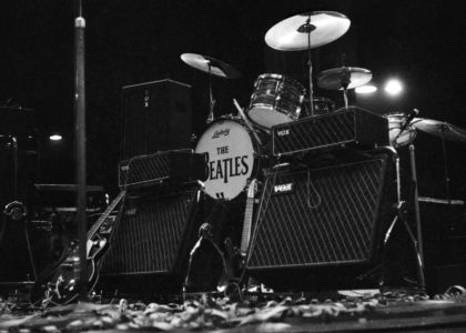 The Beatles stage set