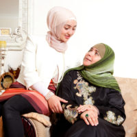 Mona Marabani and daughter Rayan