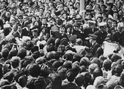 Adelaide crowd greets The Beatles