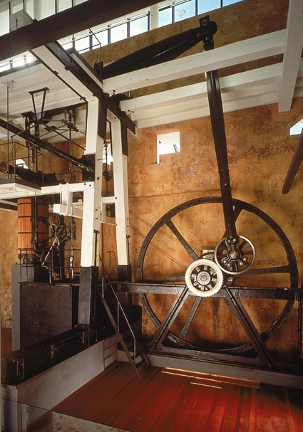Boulton and Watt steam engine at the Powerhouse Museum