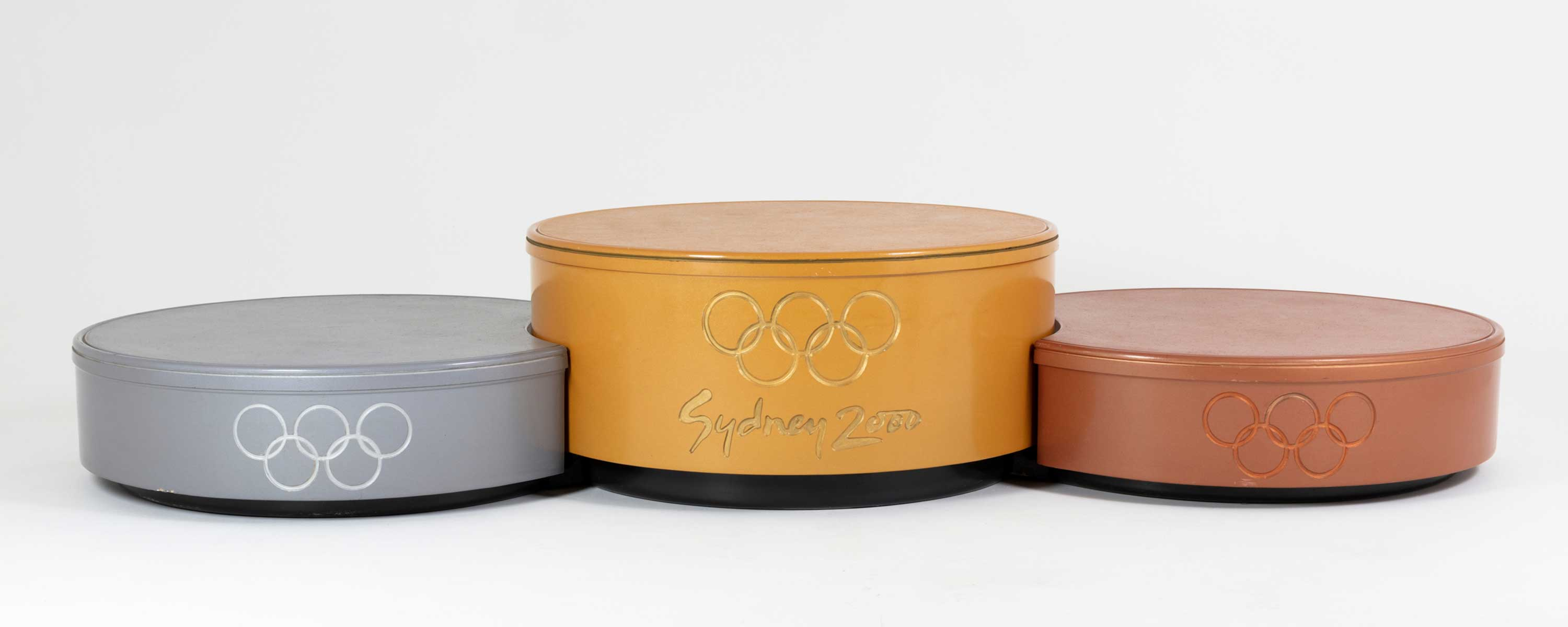 Sydney 2000 Olympic Games 20 Year Anniversary, podiums, Museums Discovery Centre Collection