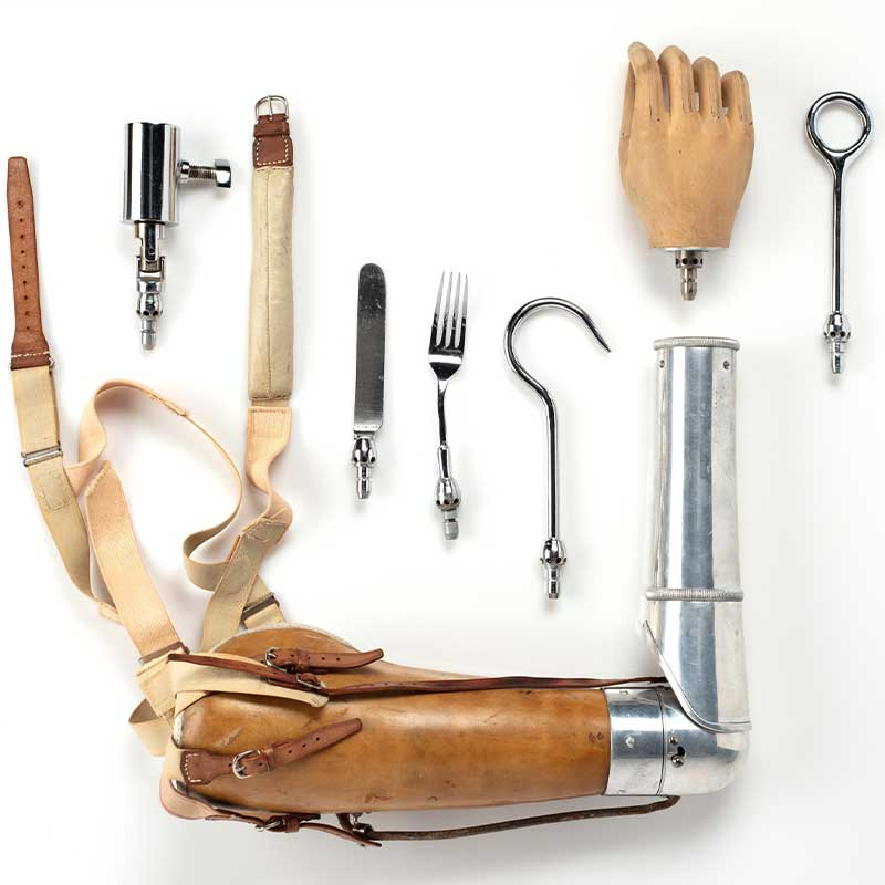 Prosthetics from the Powerhouse collection