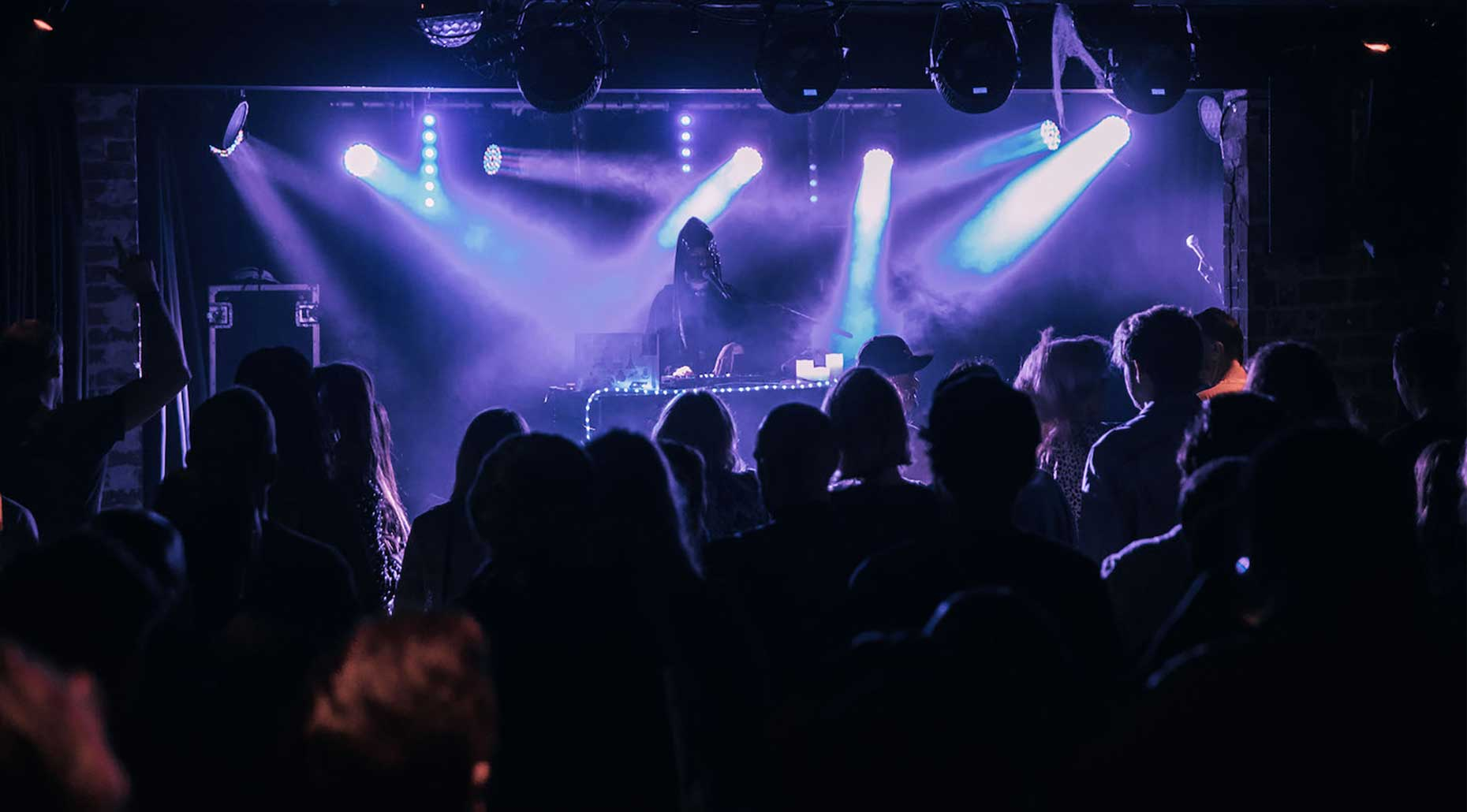 Brux performing live. Image supplied by Electronic Music Conference