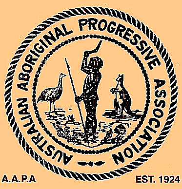 AAPA logo, 1924. Image supplied by John Maynard.