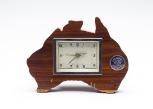 Maralinga souvenir clock, maker unknown, Australia, 1956-1980, MAAS collection, 85/1043