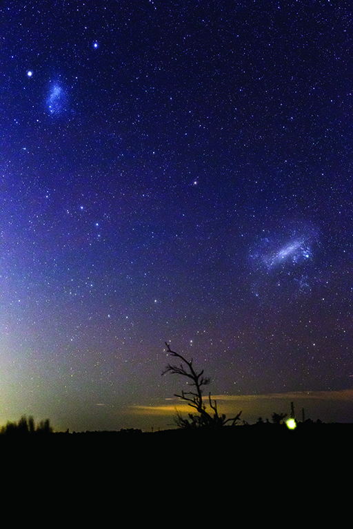 Photo of Magellanic Clouds