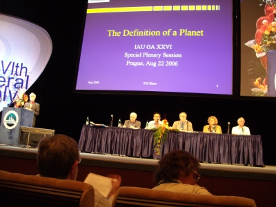 Debating the definition of a planet