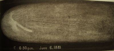 Great Comet 1881 drawing C by HC Russell_Sydney Observatory