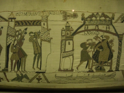 Halley's Comet as depicted on the Bayeux Tapestry_image Kerrie Dougherty