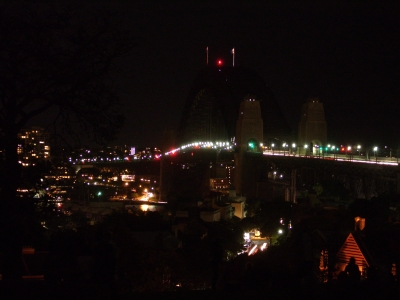 The Sydney Harbour Bridge during Earth Hour_Nick Lomb