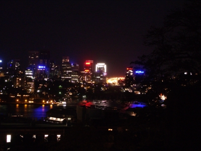 North Sydney before Earh Hour_Nick Lomb