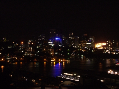 North Sydney during Earth Hour_Nick Lomb