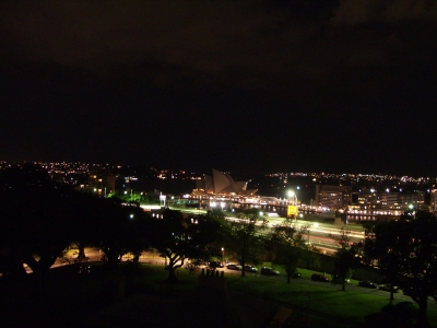 Sydney Opera House during Earth Hour_Nick Lomb