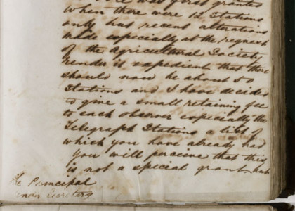 Letter by G R Smalley, 28 May 1870