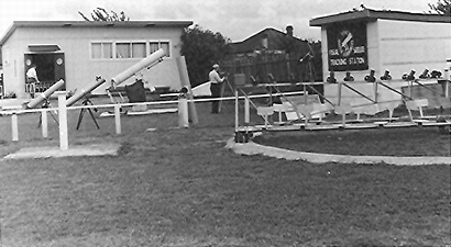 The clubhouse of the Sydney Amateur Astronomers in about 1961. Picture John Flavin