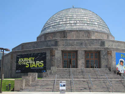 The Adler Planetarium in Chicago on 5 July 2011