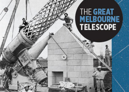 The cover of the Great Melbourne Telescope by Richard Gillespie