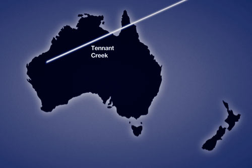 Path of the 10 May 2013 eclipse across Australia