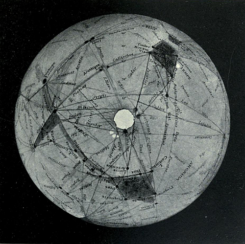 North polar cap_Lowell Observatory 1905_Mars and its canals_Archives_org