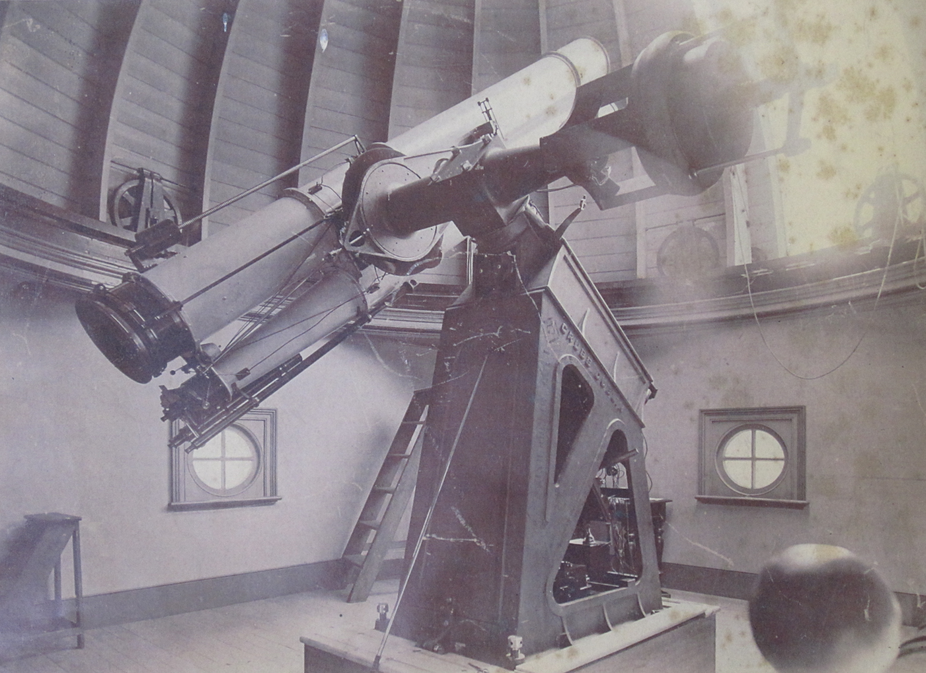 The 1890 star telescope is being prepared to shine