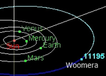 Daily cosmobite: Woomera approaches