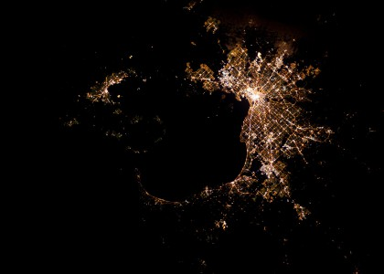 MelbourneAtNight.ISS