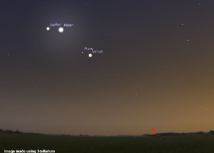 Dawn Planetary Gathering on 7 November 2015