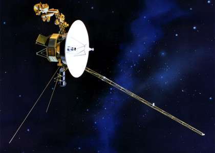 Voyager 1 Spacecraft. Image courtesy of NASA/JPL