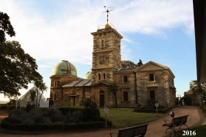Sydney Observatory taken in 2016. Image courtesy of Brenan Dew.