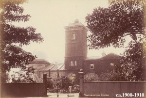Sydney Observatory taken between 1900-1910. Image courtesy of the collection of the State Library of NSW.