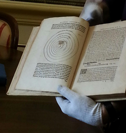 First edition print of Nicolaus Copernicus's 'On the Revolutions of Heavenly Spheres'