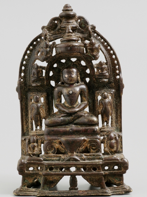 Jain shrine donated by Alastair Morrison. Collection, Powerhouse Museum