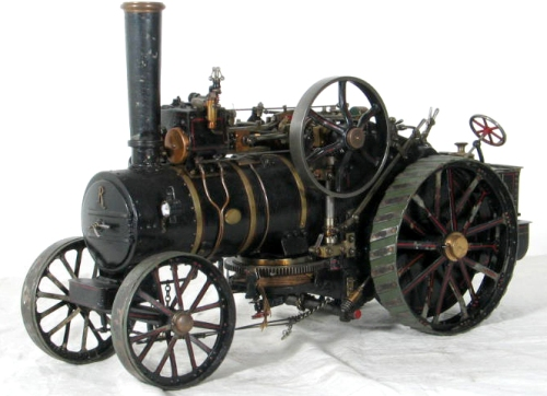 Model Traction Engine